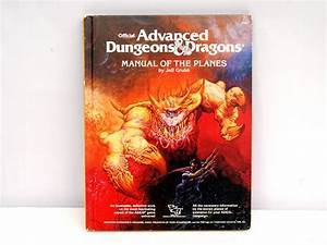 Vintage Advanced Dungeons  U0026 Dragons Manual Of The Planes