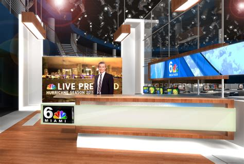 Exclusive Photos, Renders Of Nbc 6 Set