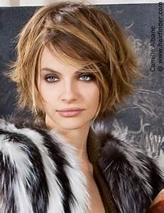 Coiffer Un Carré : coiffure courte avec peu d 39 entretien et facile coiffer ~ Farleysfitness.com Idées de Décoration