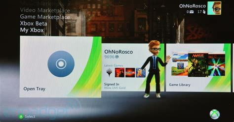 Xbox Live Fall 2010 Dashboard Update Preview
