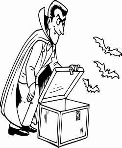 Dessin Halloween Vampire : coloriage dracula dessin imprimer sur coloriages info ~ Carolinahurricanesstore.com Idées de Décoration