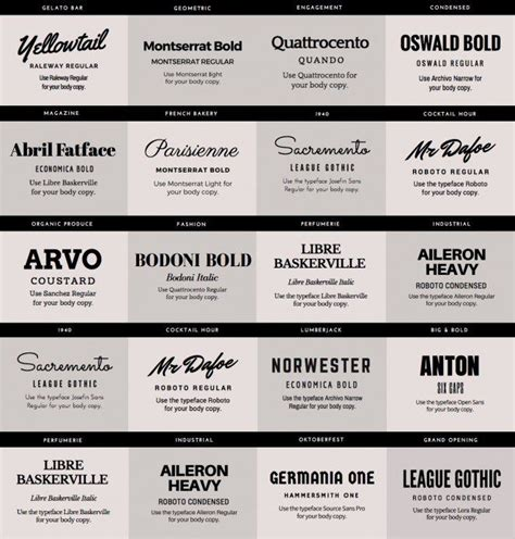 font combinations for resumes best 25 font pairings ideas on font combinations font combos and fonts for logos