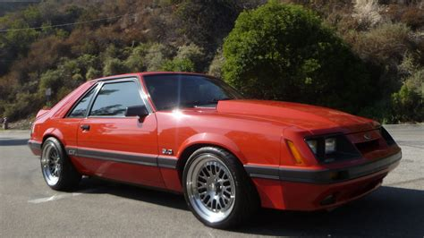 1986 Ford Mustang by 1986 Ford Mustang Gt T190 Anaheim 2012