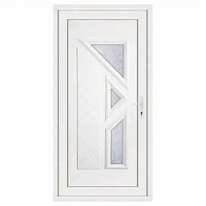 porte d39entree pvc lisa poussant gauche 215 x 80 cm With porte d entree 80 cm