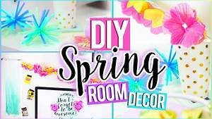 DIY Tumblr SPRING Room Decor! Easy & Affordable - YouTube