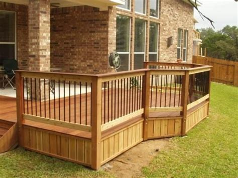 Metal Deck Skirting Ideas by Ideas For My Deck Building Ideas