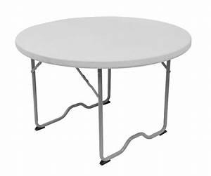 Table Pliante Ronde 115cm