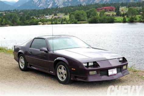 1992 Chevrolet Camaro Rs  Chevy High Performance