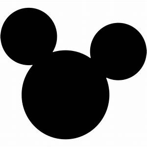 Mickey Mouse Clipart Black And White