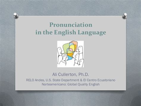 English Vocabulary With Pronunciation