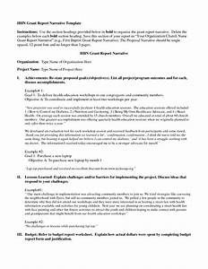 best photos of grant report template sample grant With grant reporting template