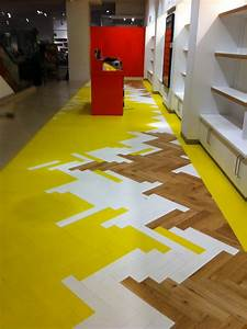 Colored parquet collection by mckay flooring design milk for Coloured parquet flooring