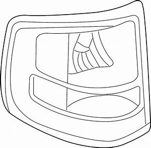 Ford Explorer Sport Trac Tail Light Assembly  Lamps