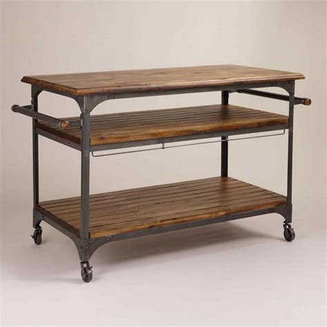 Modern Kitchen Island Cart Deductourcom