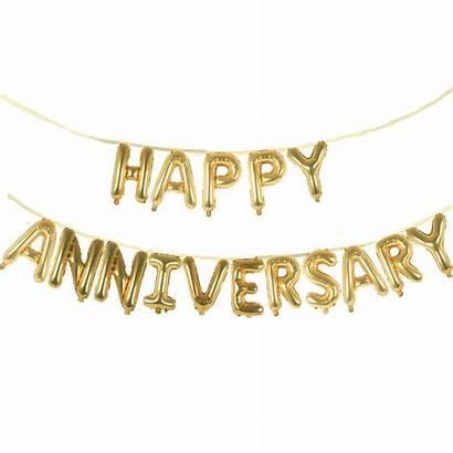 Anniversary Happy Banner Balloon Roblox Clipart Golden