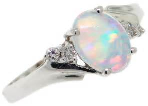 white opal engagement rings opal rings val inc