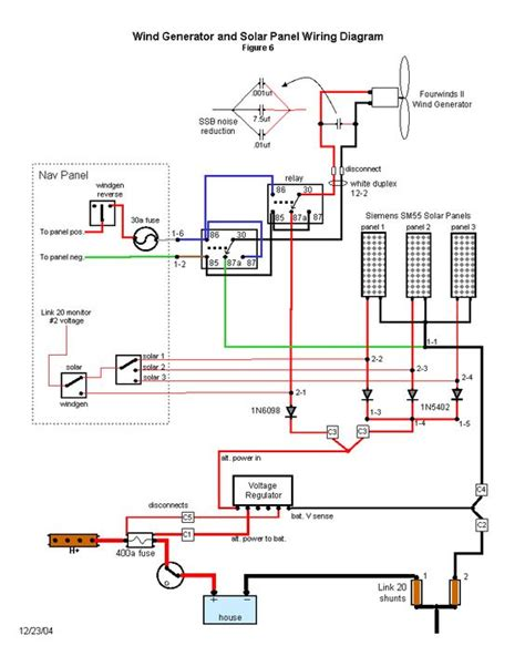 wind generator and solar wiring diagram back to basics