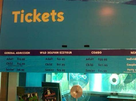 ticket booth picture of florida aquarium ta tripadvisor