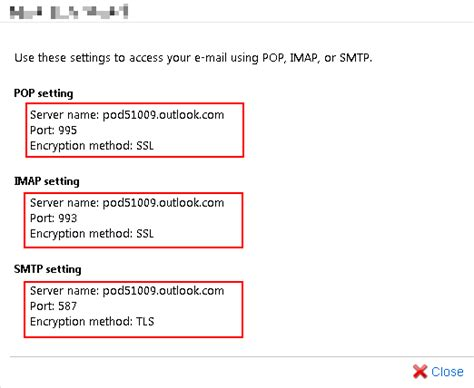 Office 365 Outlook Pop3 by Outlook365 Imap Pop3 And Smtp Settings Limilabs