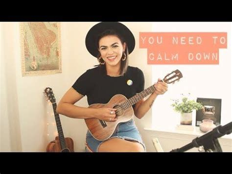 You Need To Calm Down - Taylor Swift Cover - YouTube ...