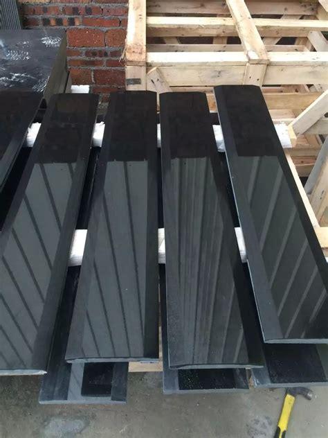 absolute black granite threshold