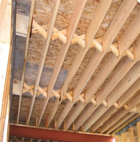 Wood Floor Joist Bridging by Pictorial Guide