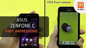 Asus Zenfone C  First Look