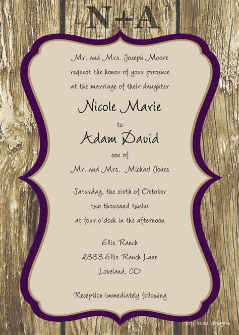 Free Wedding Invitation Templates Weddingwoowcom