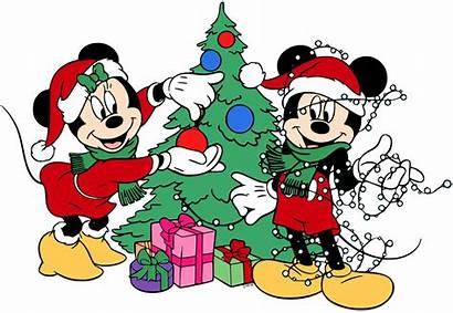 Mickey Christmas Minnie Mouse Clip Tree Disney