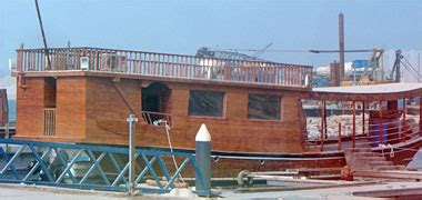 Houseboat Qatar by Traditional Boats Of The Gulf