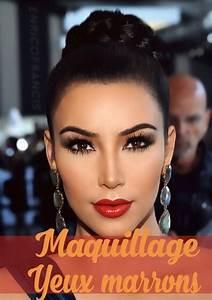 Maquillage Pour Yeux Marron : maquillage pour les brunes aux yeux marrons ak65 jornalagora ~ Carolinahurricanesstore.com Idées de Décoration