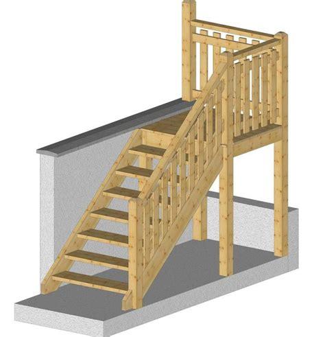escalier exterieur kit