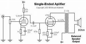 balanced vs unbalanced With tube amp wiring