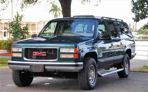 transmission control 1996 chevrolet suburban 2500 auto manual purchase used 1996 gmc suburban 2500 slt 4x4 loaded great condition perfect tow vehicle in