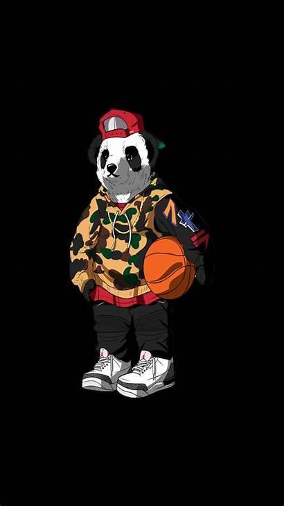 Gangster Wallpapers Cartoon Gangsta Phone Panda 4k