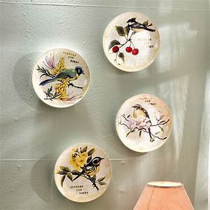 Buy wholesale decorative plates birds from china