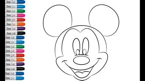 Dibujos Para Colorear Para Ninos Mickey Mouse páginas