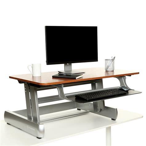 desktop standing desk inmovement elevate desktop dt2 standing desk review