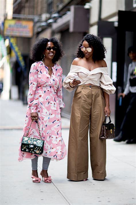 Street Style / New York Fashion Week Spring 2018 u2014 FASHION DETAILS