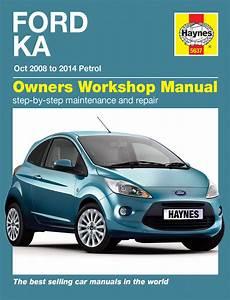 Haynes Workshop Repair Manual Ford Ka Petrol 2008