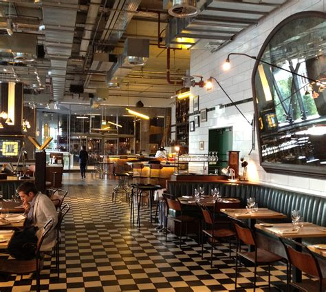 What Are Cathedral Ceilings by Restaurant Review Bread Street Kitchen London