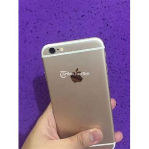 handphone apple iphone  gold gb fullset  harga