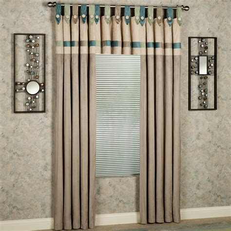 Tab Drapes - synergy tab top window treatment