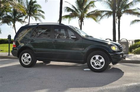books on how cars work 2002 mercedes benz c class windshield wipe control find used 2002 mercedes benz ml320 low miles nice truck books and both keys in pompano beach