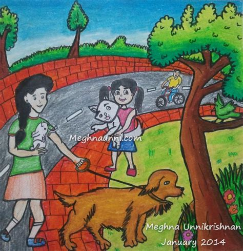 hindu young world painting competition