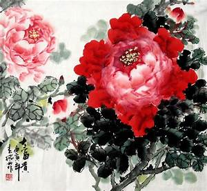 Chinese Painting: Peony - Chinese Painting CNAG233172 ...