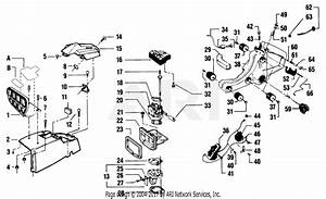 Poulan 8500 Gas Saw Parts Diagram For Handguard  Air Filter  Fuel System