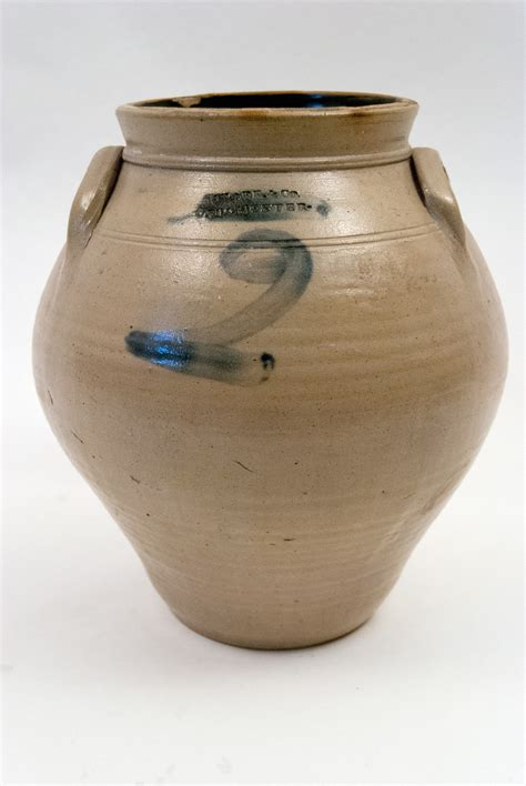 c1838 1846 ovoid jar stoneware crocks