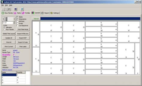 sheet cutting optimizer cutting software  sheet metal