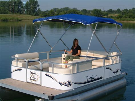 Small Boat Pontoons by Small Pontoon Boats Tekne Pontoon Boating